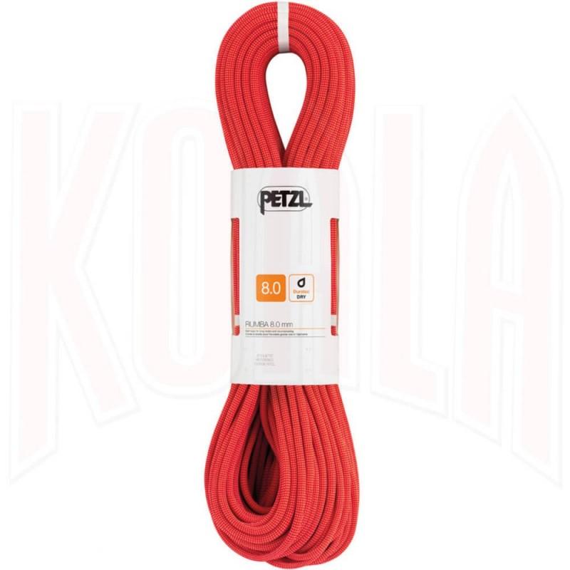 Cuerda doble Petzl RUMBA 8mm 60mts