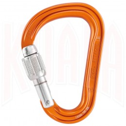 Mosqueton Petzl ATTACHE Screw-Lock