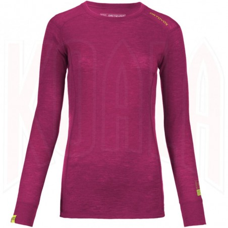 Interior Ortovox 105 LONG SLEEVE Mujer