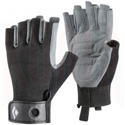 Guante escalada y vias ferratas CRAG Half-finger Black Diamond
