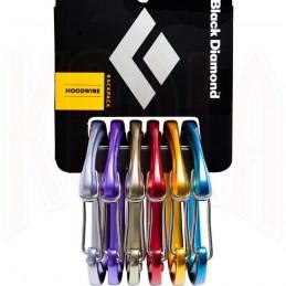Mosquetón Black Diamond HOODWIRE 6-Pack