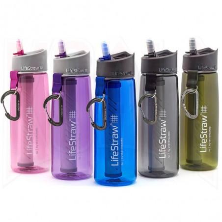 Botella de agua y Filtro LifeStraw® GO 2