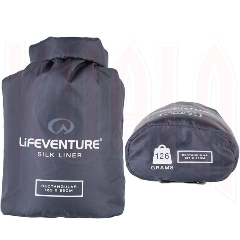 Saco sábana Lifeventure SILK Sleeping Bag Liner