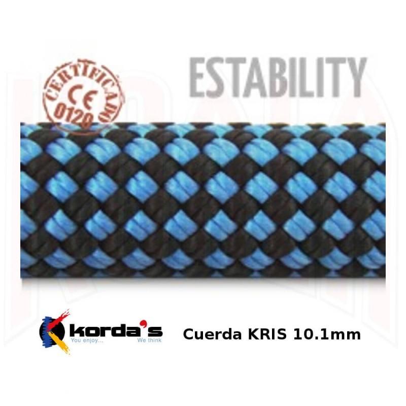 Cuerda Escalada Kordas KRIS 10.1mm 60mts.