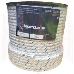 Cuerda Semiestática blanca WORK 10.5mm Korda's