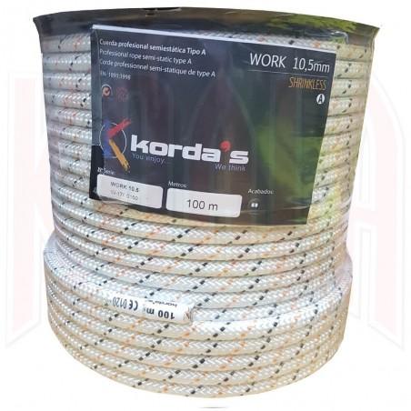 Cuerda Semiestática Korda's WORK 10.5mm