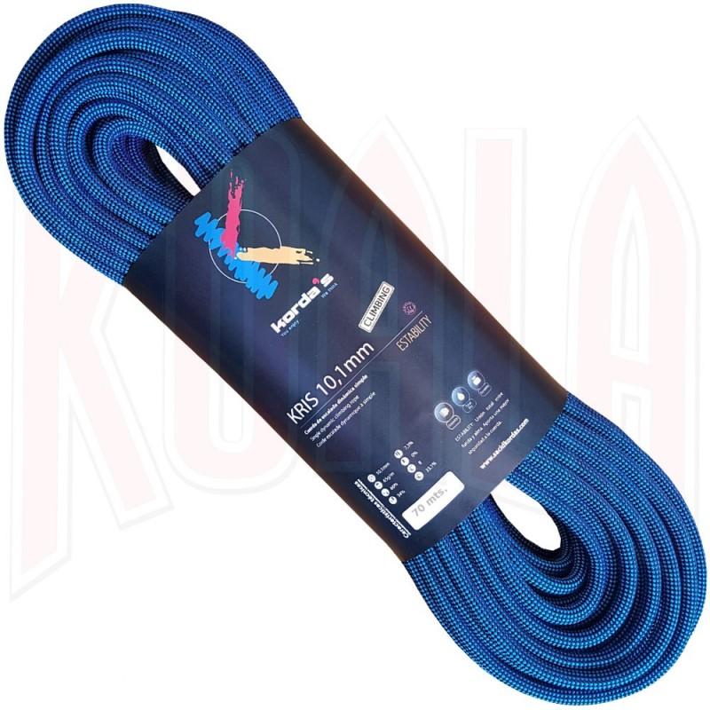 Cuerda Escalada Kordas KRIS 10.1mm 70mts.