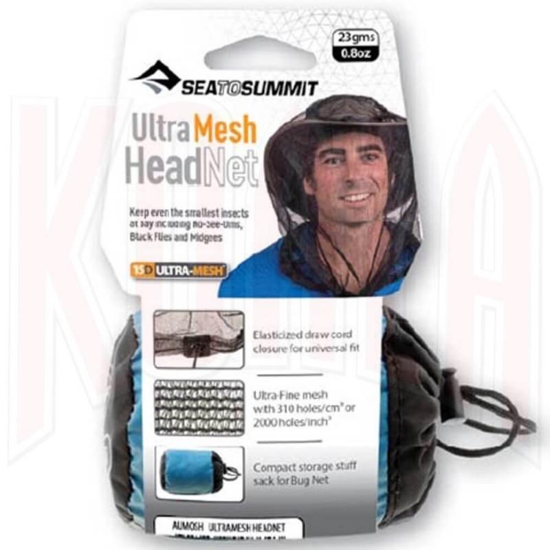 Mosquitera SeaToSummit HEADNET Ultra-fine