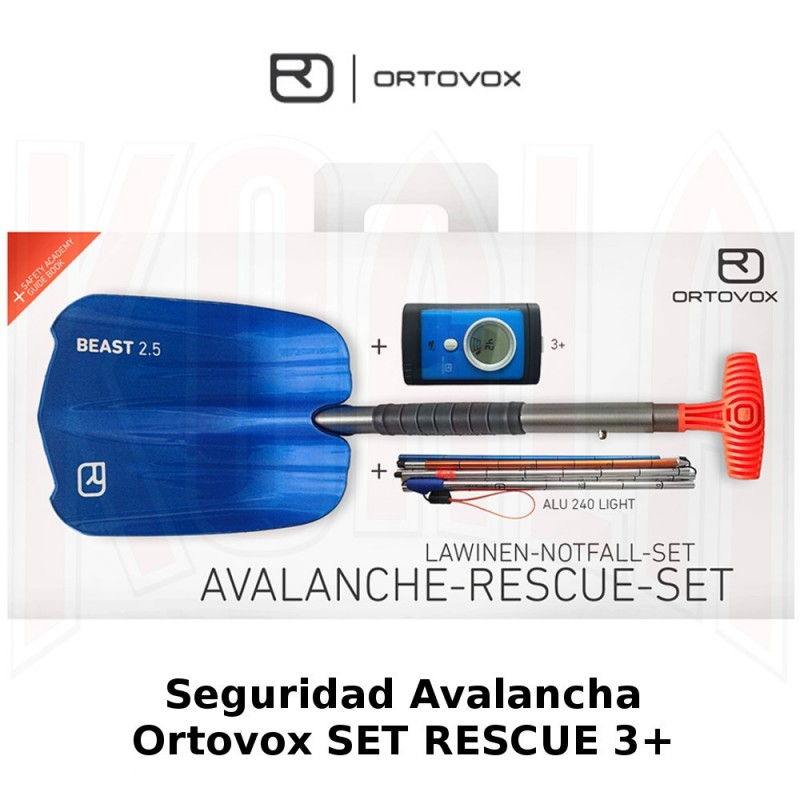 Seguridad Avalancha Ortovox SET RESCUE 3+