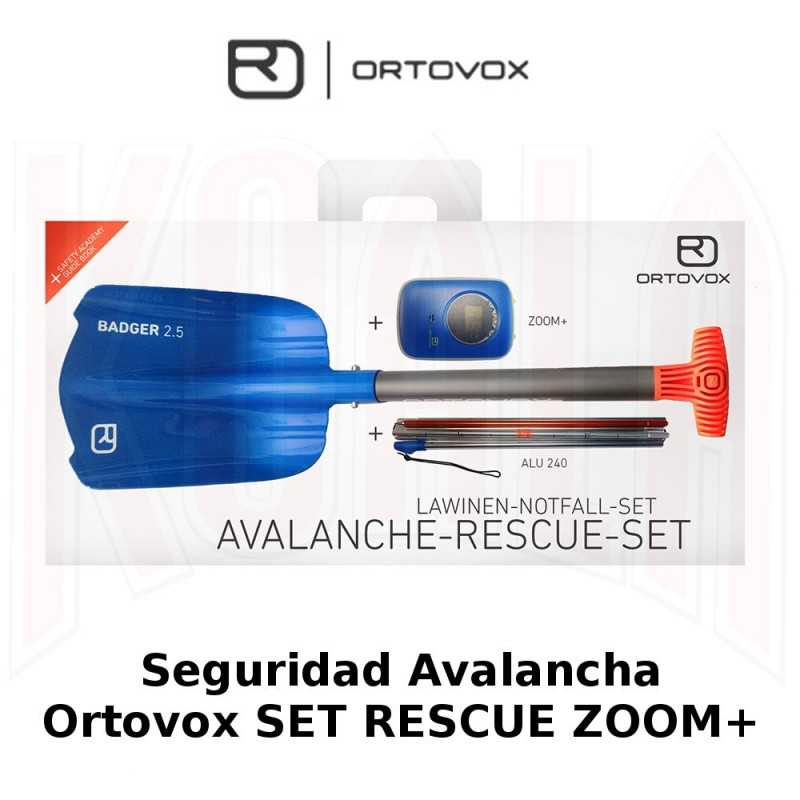 Seguridad Avalancha Ortovox SET RESCUE ZOOM