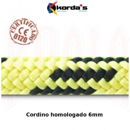 Cordino Auxiliar Korda's 6mm (por metros)