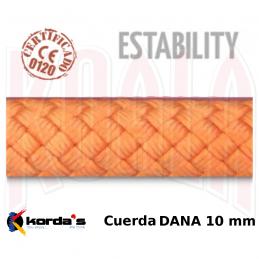 Cuerda Barrancos Korda's DANA 10mm (por metros)