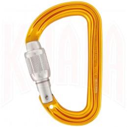 Mosqueton Petzl SMD Screw-Lock