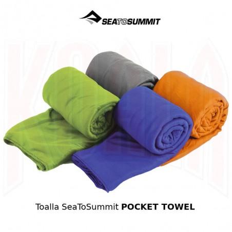 Toalla de montaña SeaToSummit POCKET TOWEL