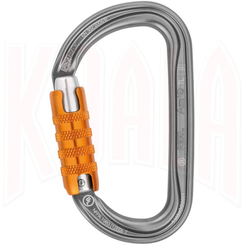 Mosqueton Petzl AM'D TRIACT-Lock New