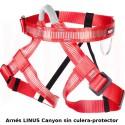 Arnés Fixe LINUS Canyon con Protector