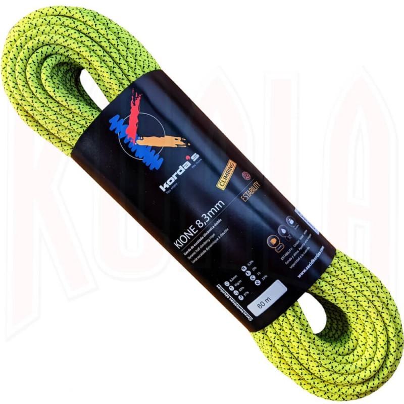 Cuerda escalada KIONE 8.3mm 60mts. Kordas