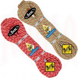 Cuerda Escalada ICE LINE 8'1mm GOLDEN DRY y UNICORE Beal