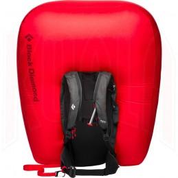 Mochila esquí de travesía JETFORCE PRO 35 Black Diamond Avalanche Airbag