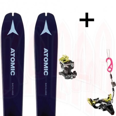 Pack esquí de travesía Atomic BACKLAND 78 W y fijación SPEED RADICAL Dynafit