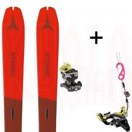 Pack esquí de travesía Atomic BACKLAND 78 y fijación SPEED RADICAL Dynafit