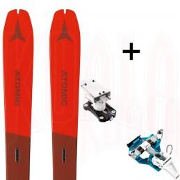 Pack esquí de travesía Atomic BACKLAND 78 W y fijación SPEED TURN Dynafit