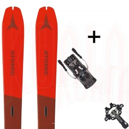 Pack esquí de travesía Atomic BACKLAND 78 y fijación XENIC 10 Fritschi Swiss