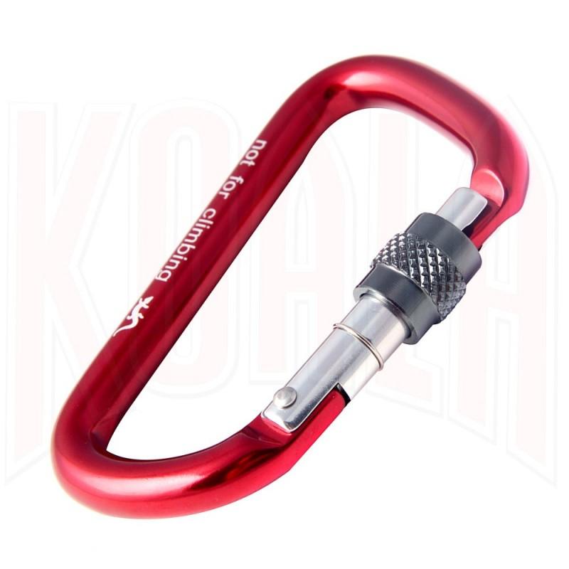 Mosqueton aluminio AUXILIAR con seguro Fixe Climbing