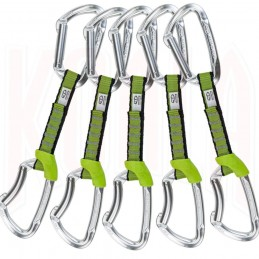 Set Cinta Express escalada LIME nylon Climbing Technology