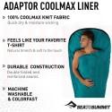 Saco sábana SeaToSummit ADAPTOR COOLMAX Liner