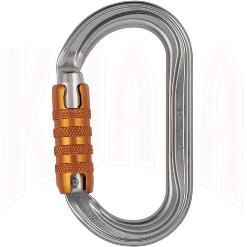 Mosqueton Petzl OK TRIACT-Lock