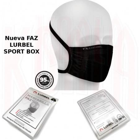 Nueva Mascarilla deportiva FAZ LURBEL SPORT BOX con caja
