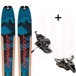 PACK Esquí de travesía SEVEN SUMMITS Dynafit + ST RADICAL TURN