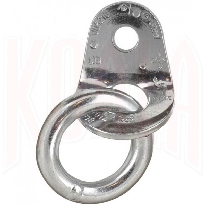 Plaqueta con anilla acero Zincado Ecotri Fixe 2