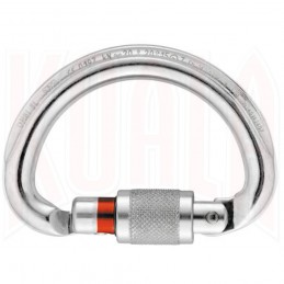 Mosqueton semicircular multidireccional OMNI SCREW-Lock Petzl