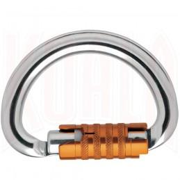 Mosqueton semicircular multidireccional OMNI TRIACT-Lock Petzl
