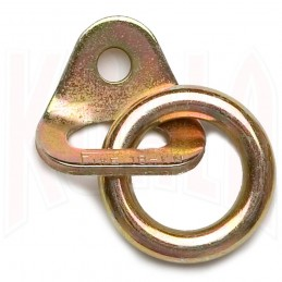 Plaqueta con anilla acero bicromatado Fixe 2