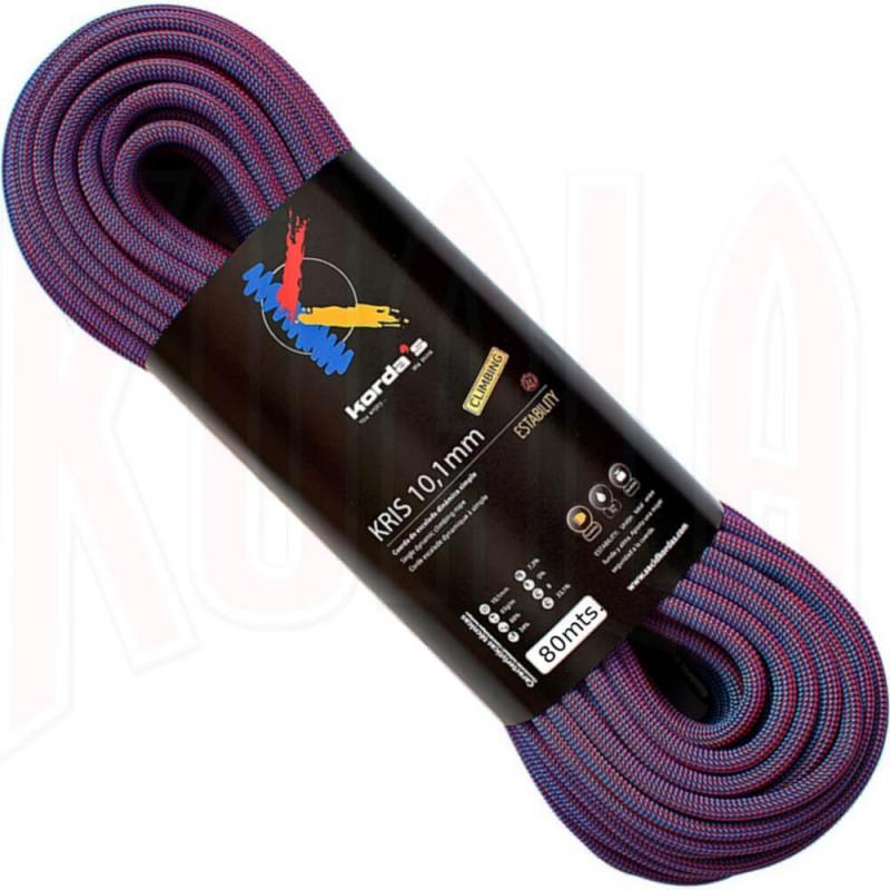 Cuerda Escalada Kordas KRIS 10.1mm 80mts.