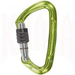 Mosqueton aluminio LIME SG seguro Climbing Technology