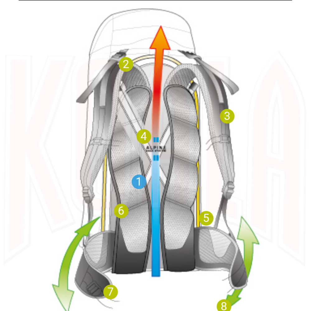 DEUTER_Mochila_Espalda_Alpine-System_Deportes_Koala_Madrid_Montaña-Trekking-Excursionismo-Alpinismo