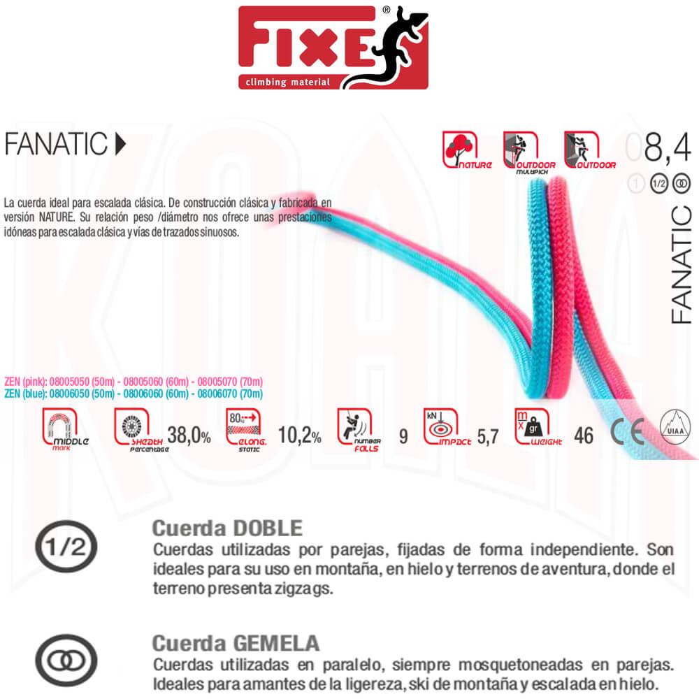 FIXE-FADERS/Cuerdas/C05084-02_FIXE_cuerda-FANATIC_8-4_Deportes_Koala_madrid_tienda_de_escalada_climbing_alpinismo
