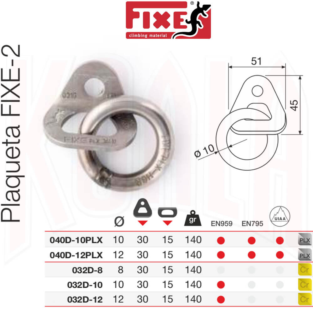 FIXE-FADERS/FIXE-2_CHAPA-con-anillo_Deportes_Koala_madrid_tienda_de_escalada_climbing_alpinismo