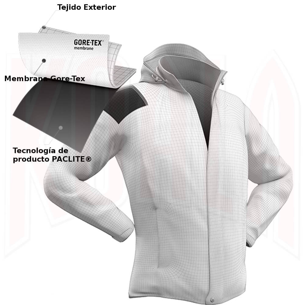 Chaqueta impermeable L.I.M. Jacket G-Tex Men Haglofs