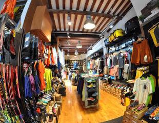 Tienda Deportes Koala en Madrid C/Lope de Vega, 18, Tlf. 913 693 526