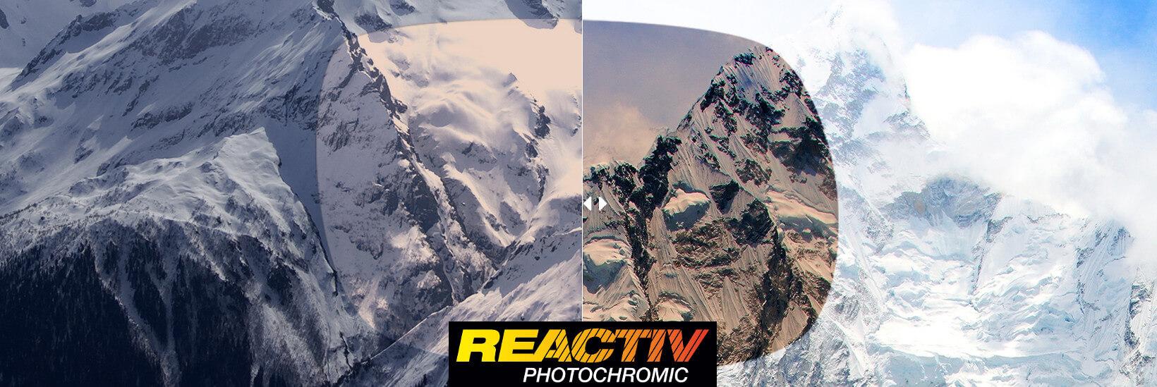 Julbo cristal REACTIV  lente- DeportesKoala Madrid Montaña-Trekking