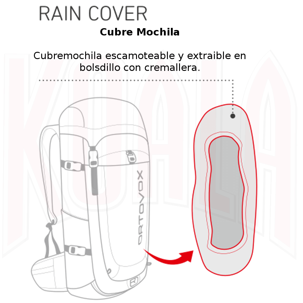 RTOVOX/Mochila/ORTOVOX-Mochilas-backpacks-Deportes-Koala-Madrid-Montana-Trekking-Alpinismo