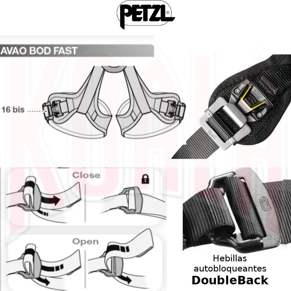 Arnés de trabajos verticales AVAO® BOD FAST Petzl Work