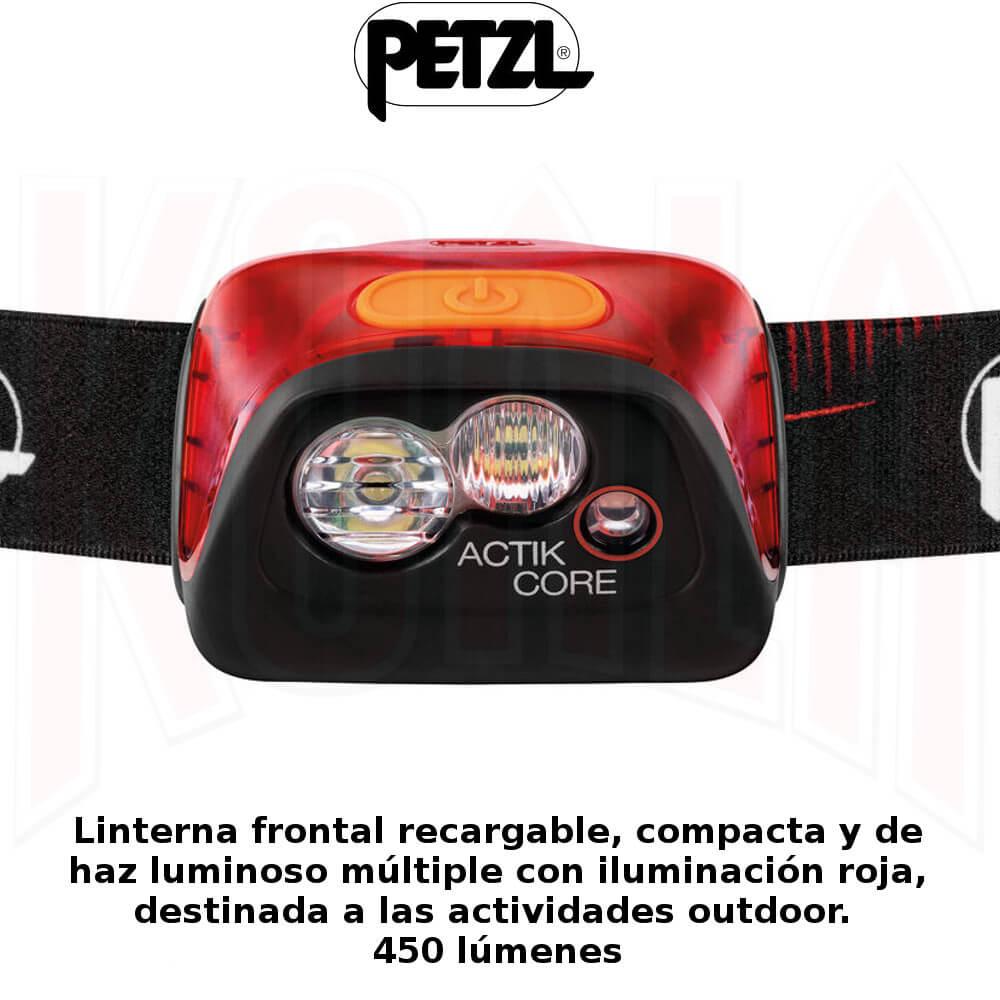 FRONTALES_PETZL_LINTERNA_frontal_ACTICK-CORE_DeportesKoala_Madrid_Montaña-Trekking-Trail-Running