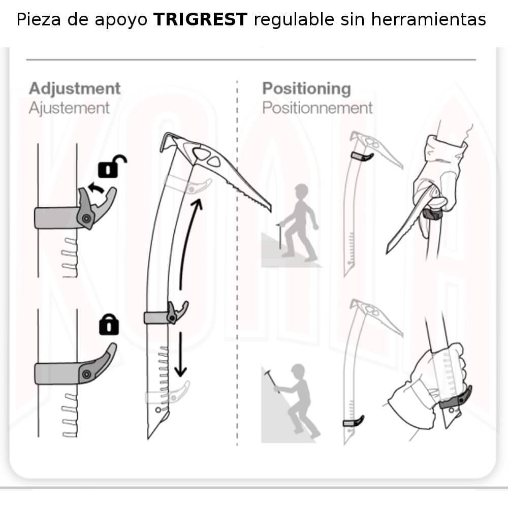 PETZL/piolets/U016AA00_06_PETZL_piolet_TRIGREST_Deportes_Koala_Madrid_montana_trekking_alpinismo_esqui_travesia