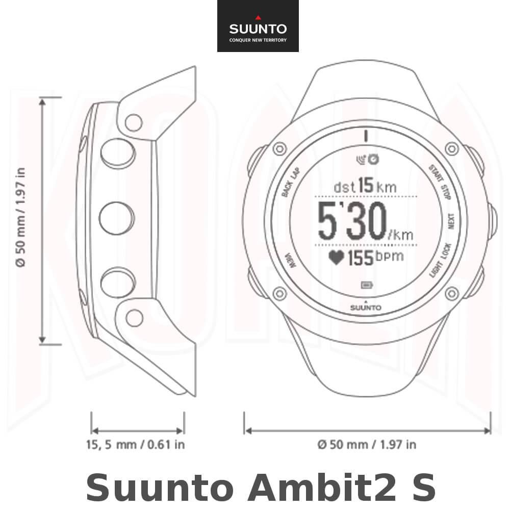 SUUNTO Reloj AMBIT2S -Deportes KOALA Mountain Running